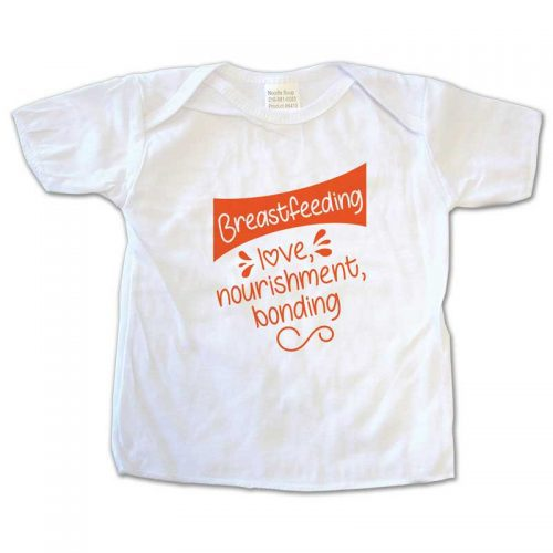 Breastfeeding Love Nourishment Bonding t-shirt