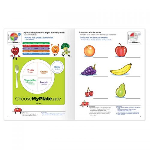 Healthy Eating with MyPlate activity book