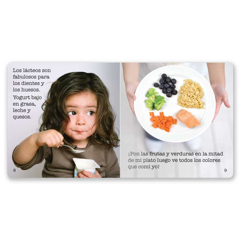 Choose MyPlate Little Book - Spanish