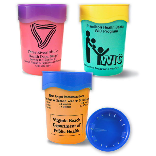 Slotted trainer cups