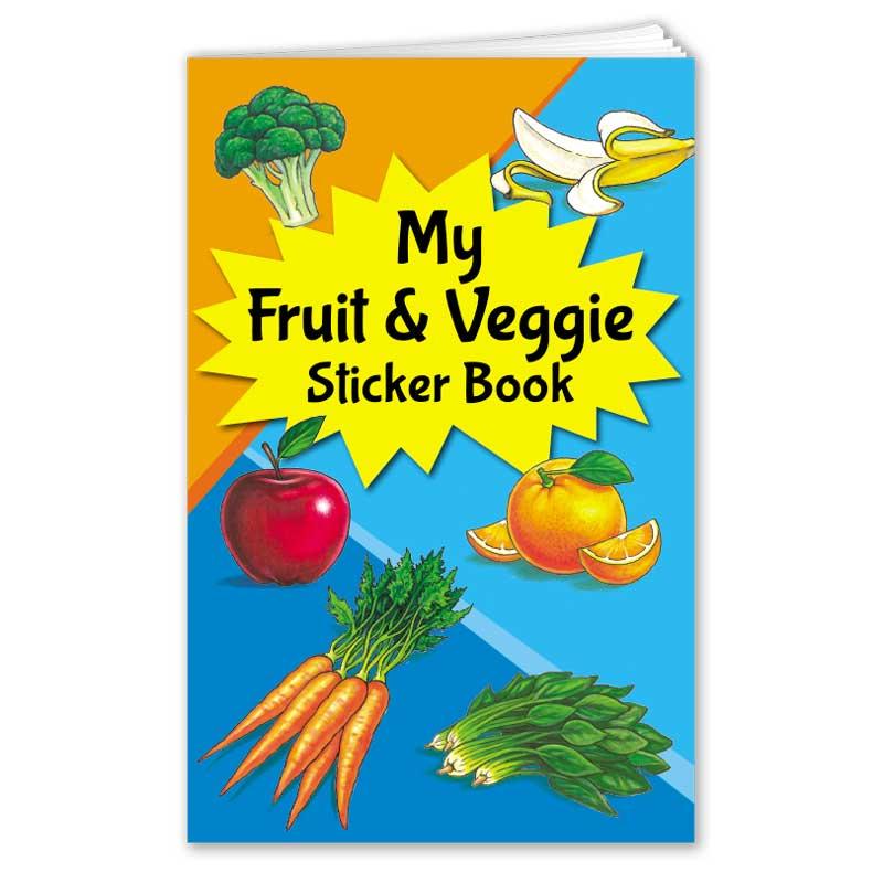 My Fruit & Veggie Sticker Book