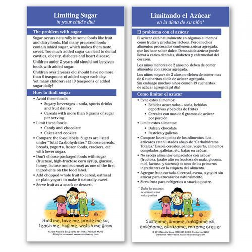 Limiting Sugar flier