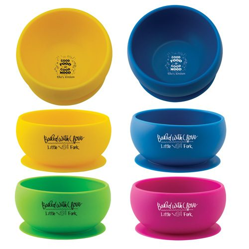 silicone suction bowls