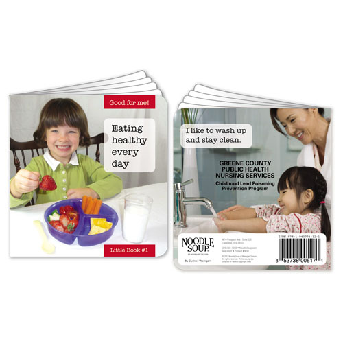 Custom Eating Healthy Every Day Little Book