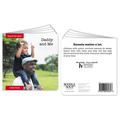 Custom Daddy and Me Little Book
