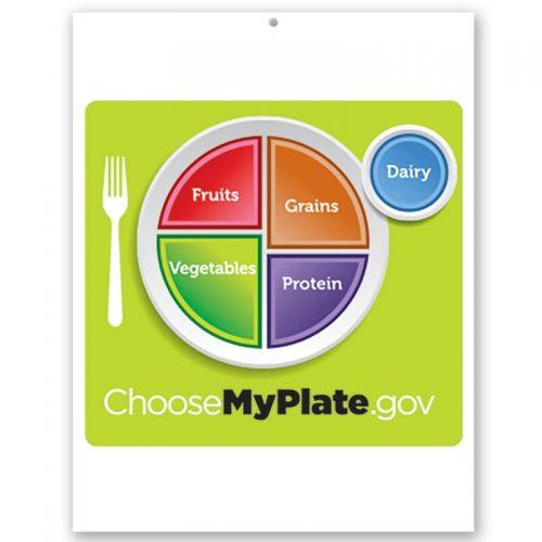 MyPlate Kids bulletin board