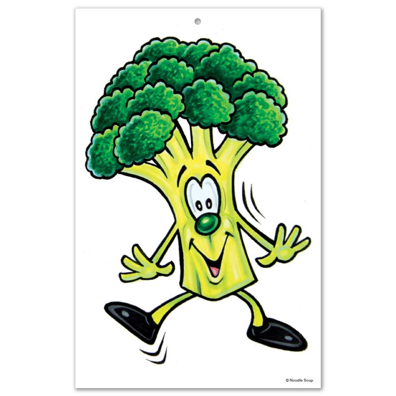 Fruit and Veggie Buddies Bulletin Board Display