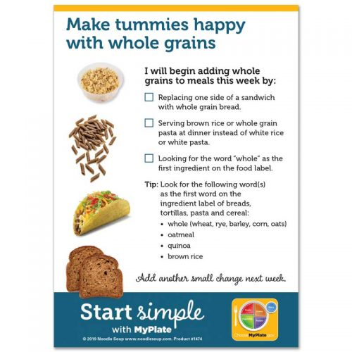 Switch to Whole Grains mini tear pad
