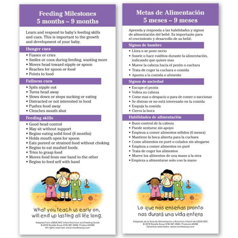 Feeding Milestones 5-9 Months