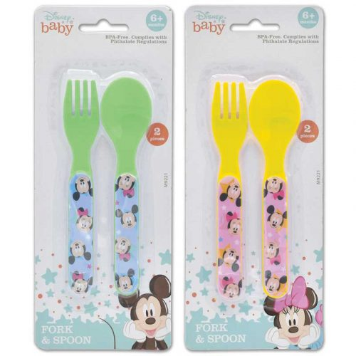 Disney Toddler Fork and Spoon Set