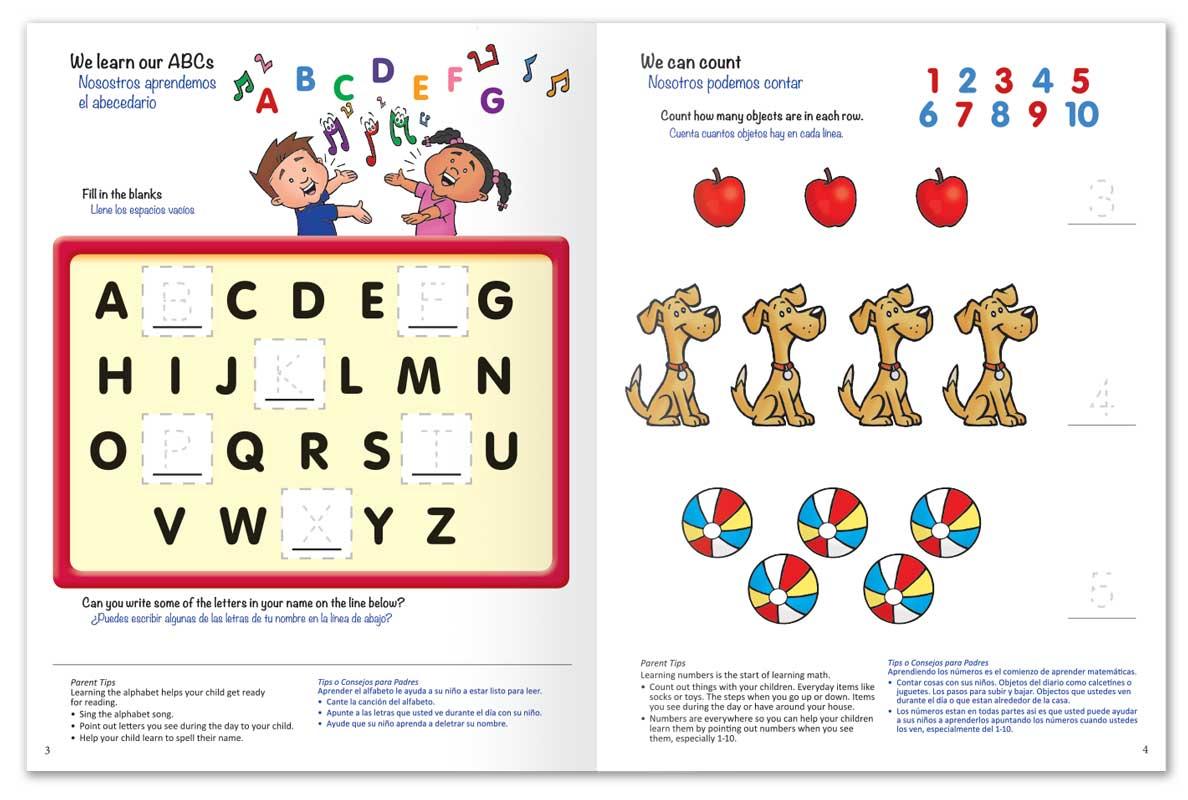 Get Ready for School Junior Activity Book
