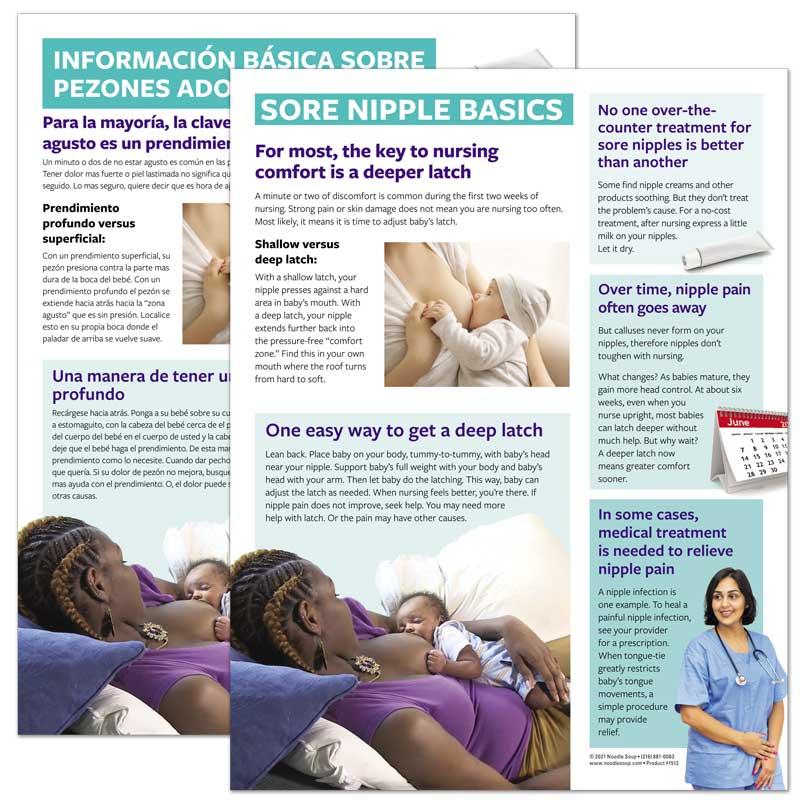 Sore Nipple Basics Tear Pad