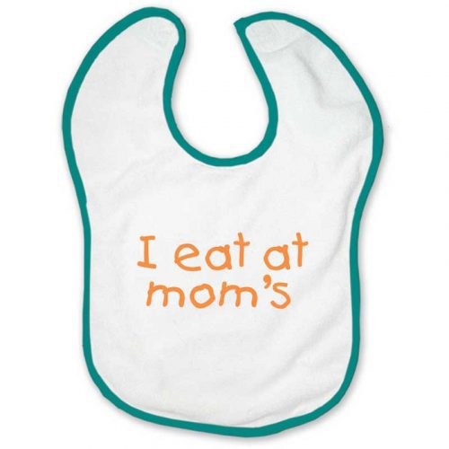 I Eat at Mom's Breastfeeding Bib