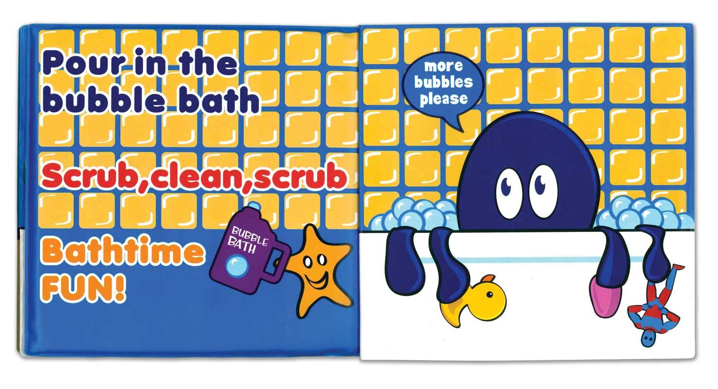 Children's Vinyl Bath Book and Squirter