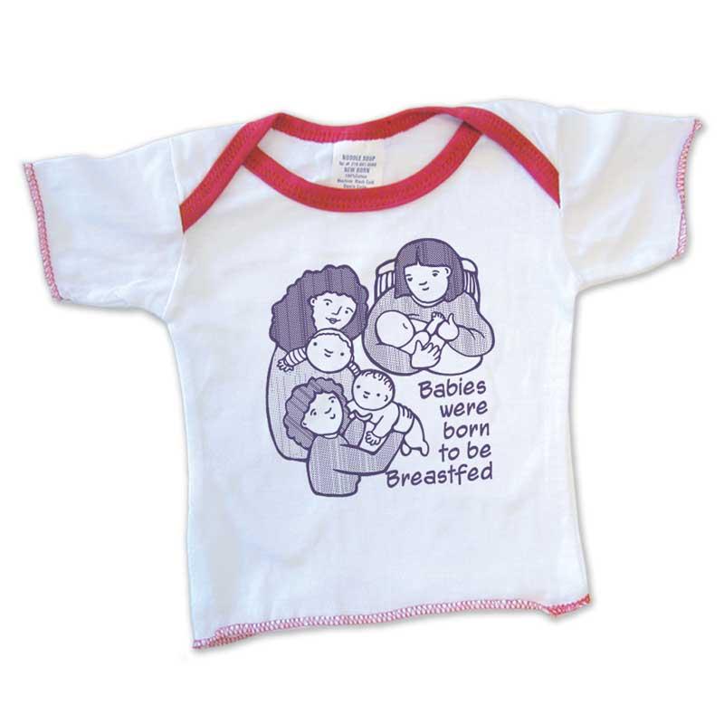 Born to be Breastfed infant newborn shirt