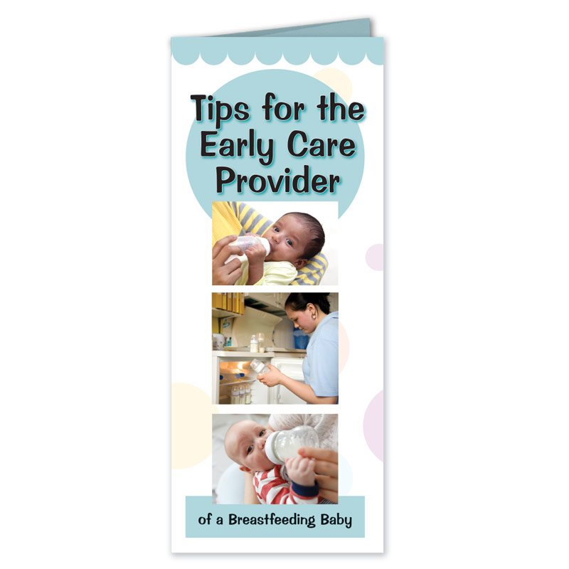 Early Care Provider of Breastfeeding Baby Pamphlet