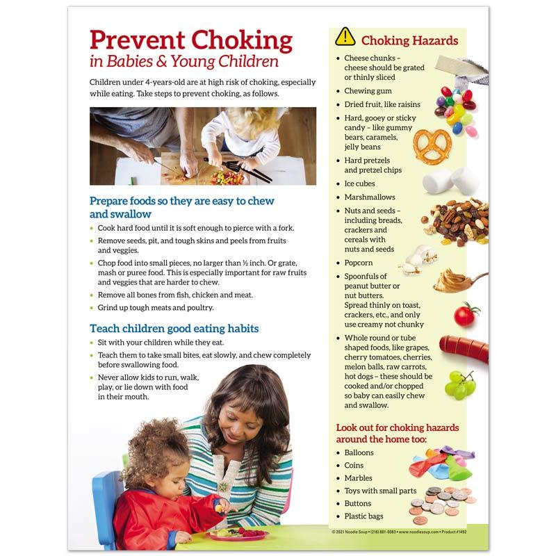 Prevent choking tear pad - English