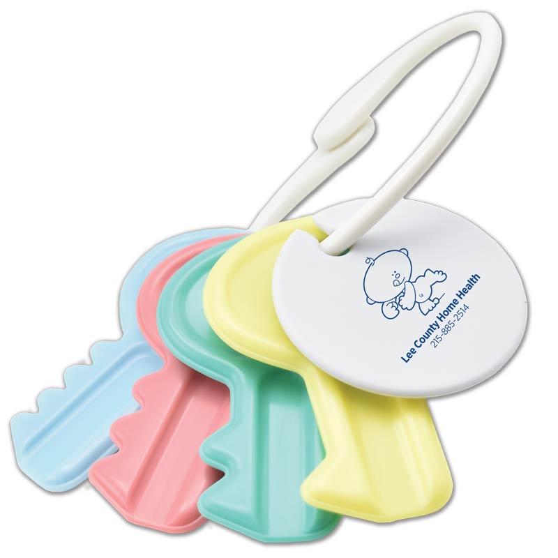 Customized Baby Keys with Fob
